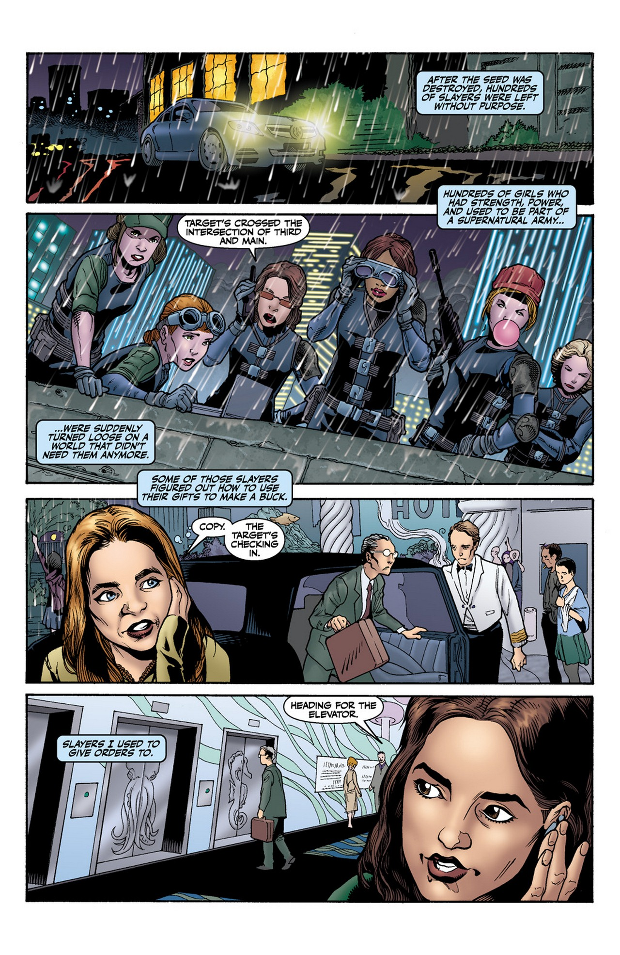 Read online Buffy the Vampire Slayer Season Nine comic -  Issue #11 - 3