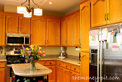 The Kim Six Fix: How To Paint Your Kitchen Cabinets Without Losing ...