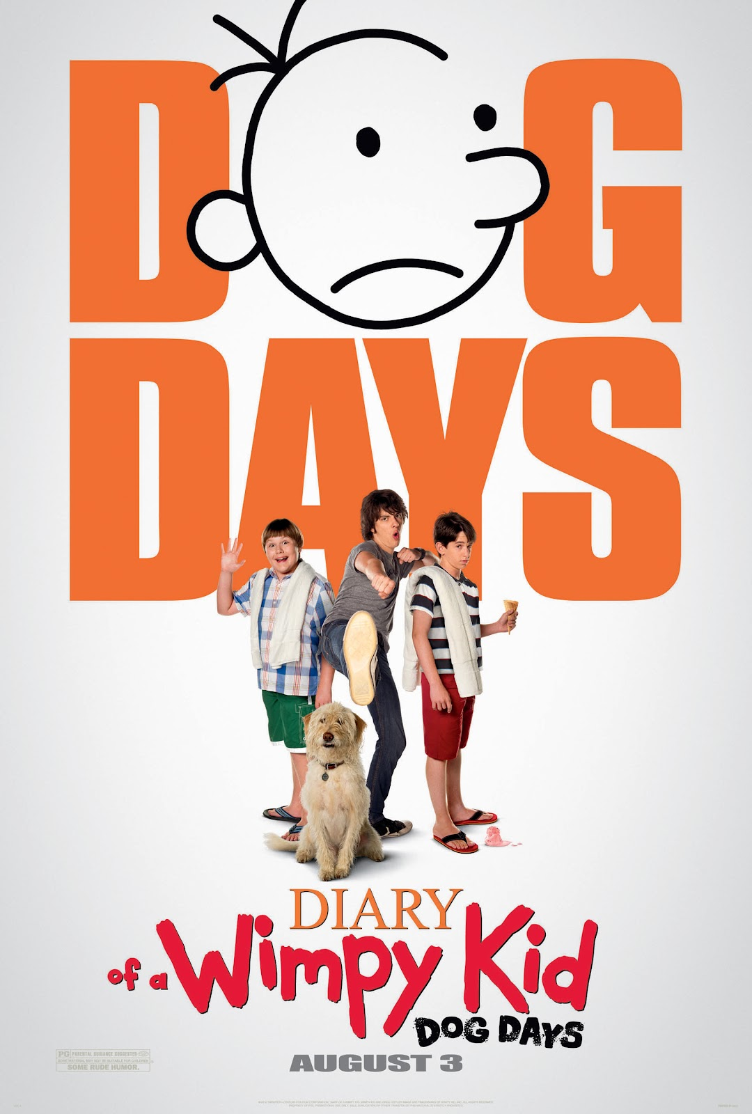 Diary of a wimpy kid dog days hits theaters aug 3 plus giveaway it looks like kaden will be adding to his collection again in november when book 7 is released for now its time for movie 3 diary of a wimpy kid dog solutioingenieria Gallery