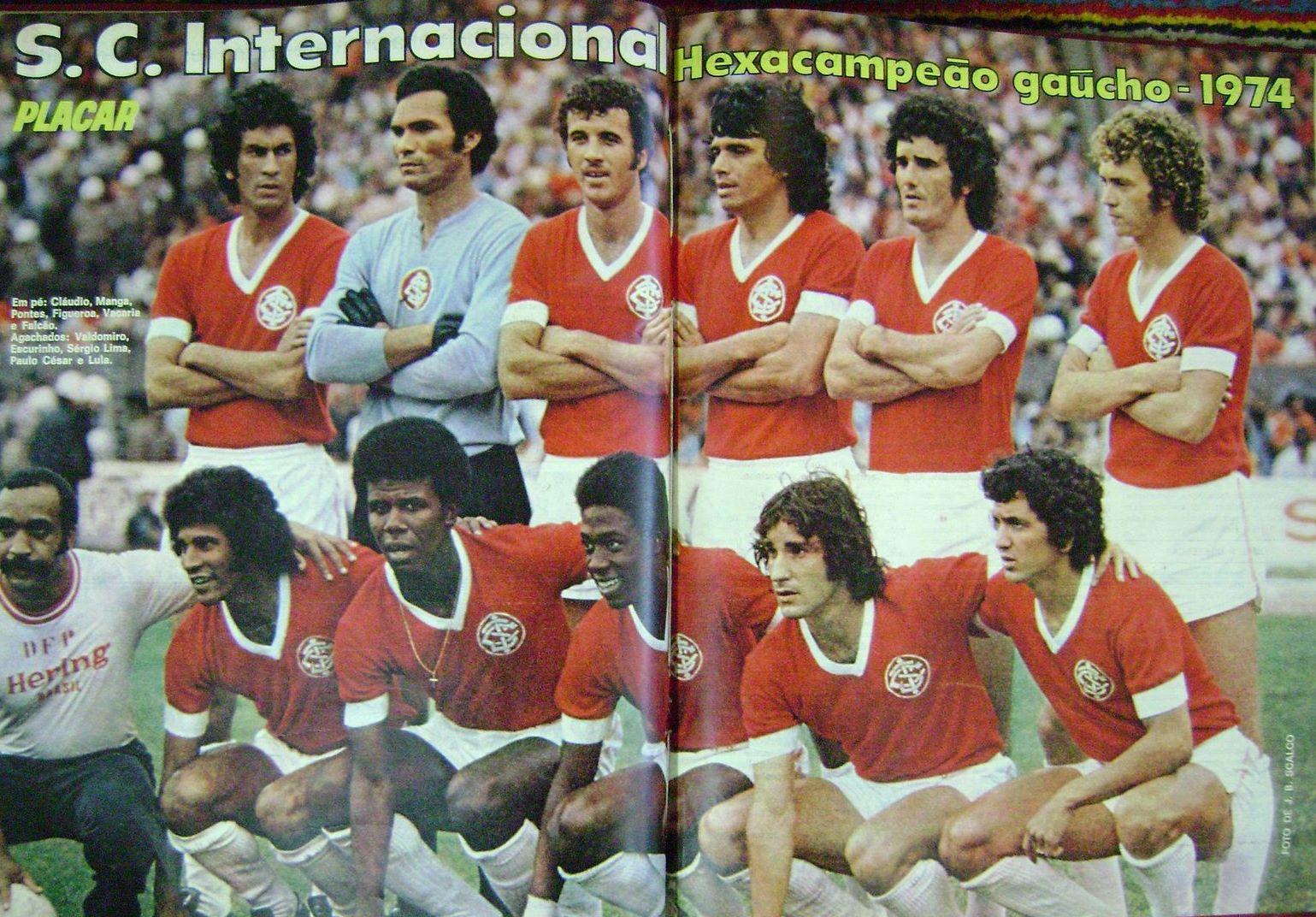 Resultado de imagem para goleiro internacional 1974