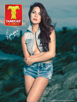 KC Concepcion daring on Tanduay calendar
