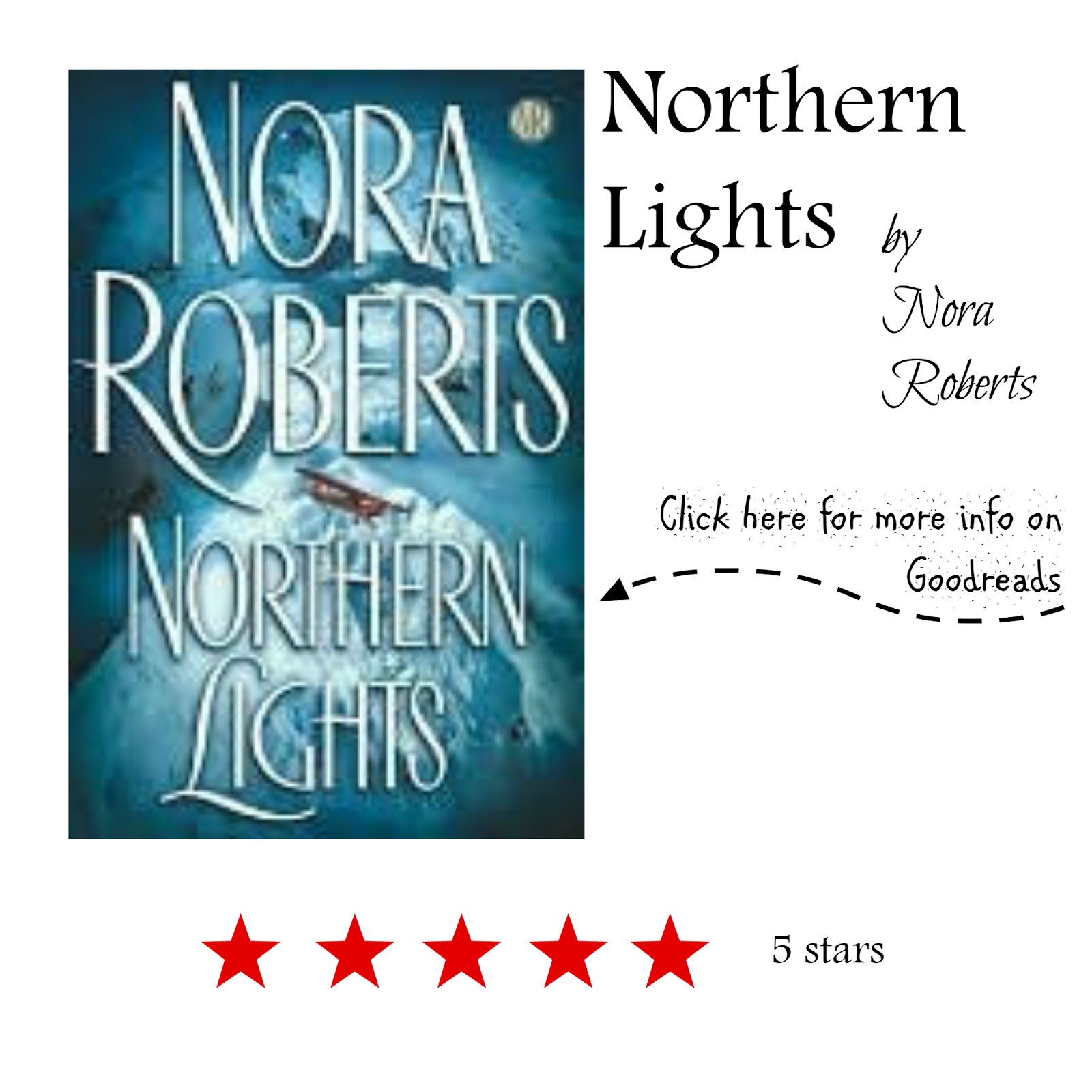 Book Review of Northern Lights by Nora Roberts