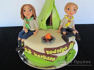 bolo aniversário escuteiros bragança