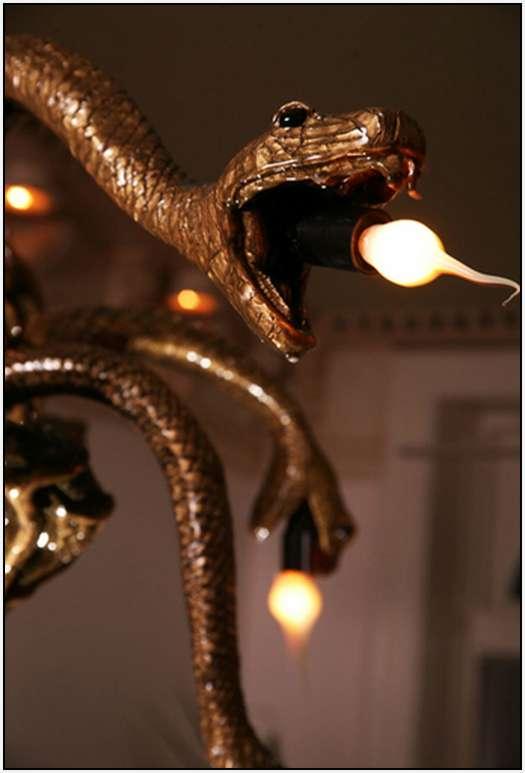 Lampu Gantung Gurita Yang Unik Oleh Adam Wallacavage
