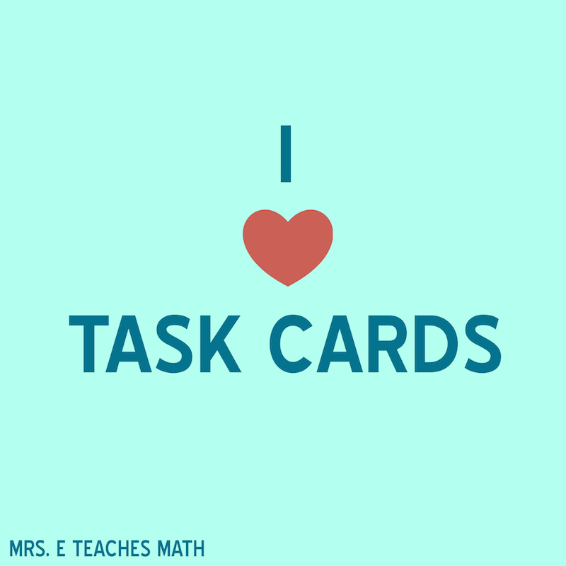 5 More Ideas for Using Task Cards in the Classroom - Secondary Style :)  mrseteachesmath.blogspot.com