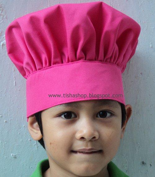 Tisha Shop: TOPI KOKI ANAK DAN DEWASA