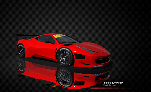 Ferrari 458 Italia para rFactor GT3 2011