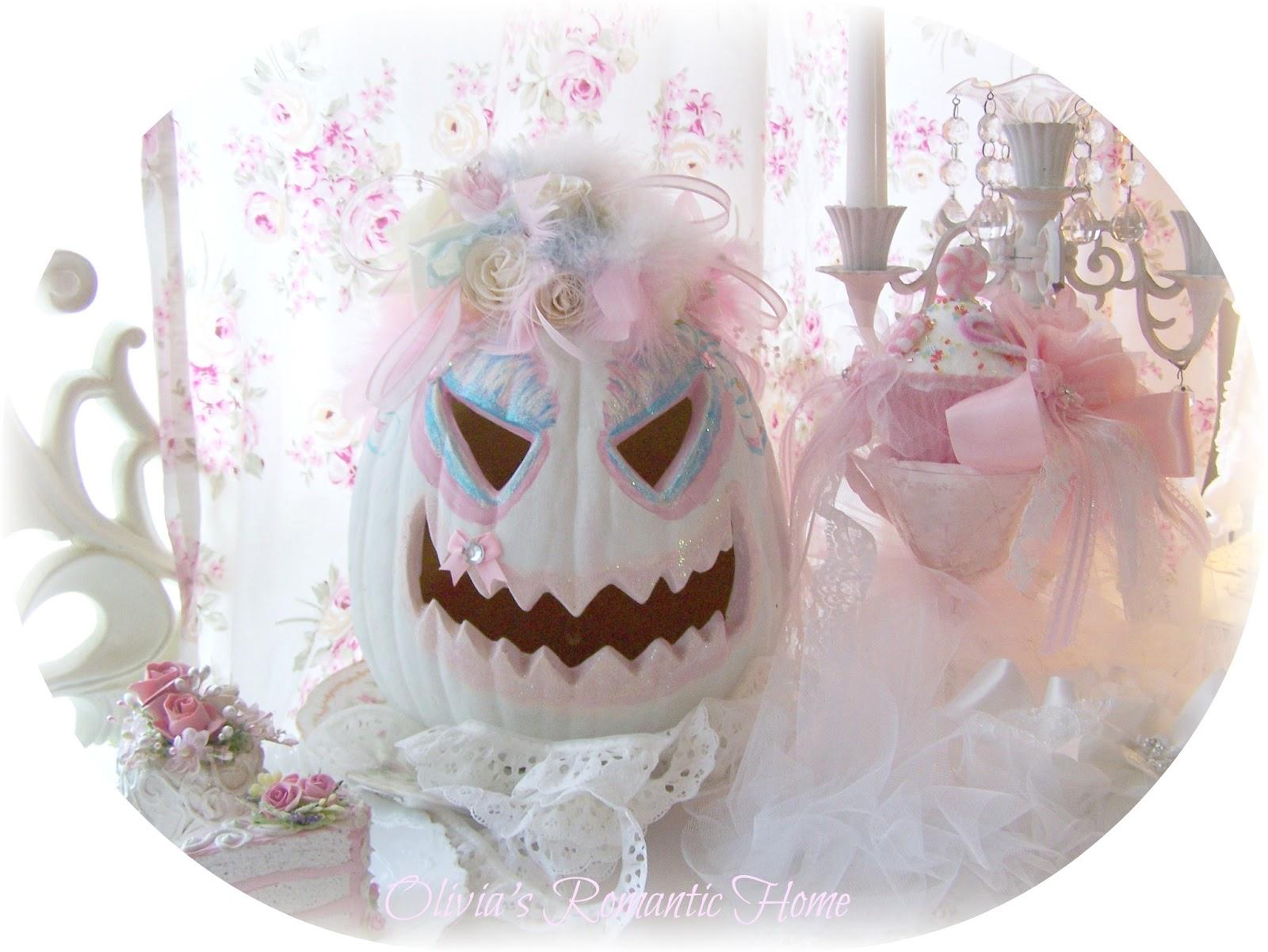 Olivia S Romantic Home Pink Pumpkin