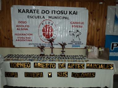 """2º ABIERTO DE ARTES MARCIALES """"COPA RIVERA Y SUS COLONIAS"""" - 12/06/2011"""