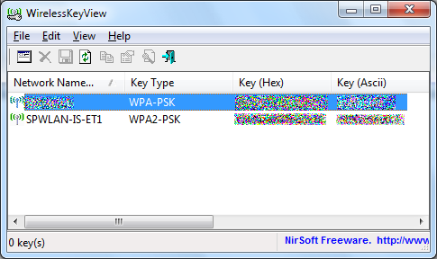 wifi key view exe
