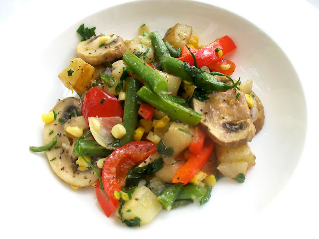 local vegetable stir-fry