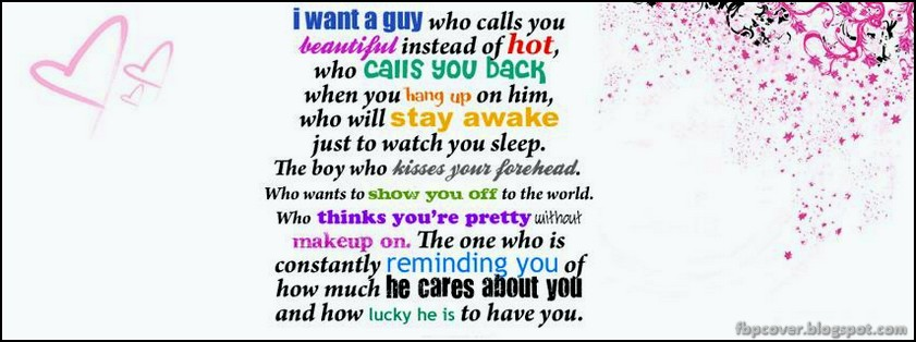 quotes, for, girls, facebook, timeline, cover