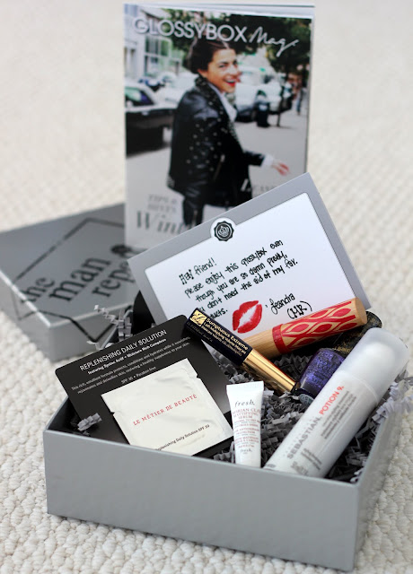 glossybox man repeller