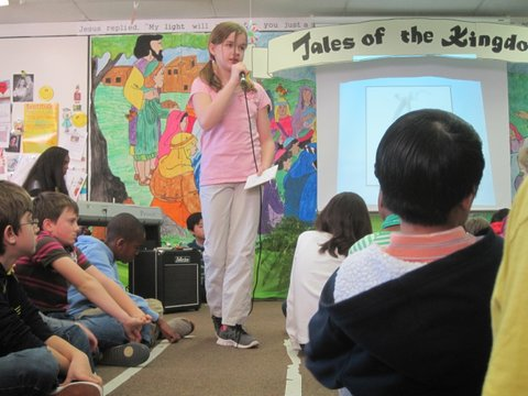 Kids Learn Public Speaking