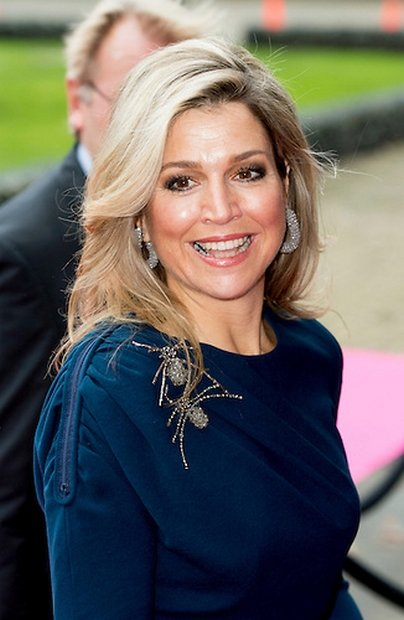 Queen Maxima Attended The Closing Session Of Power On Tour
