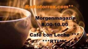 tägliche Radiosendung aus Torrox von 8 -10 Uhr morgens.