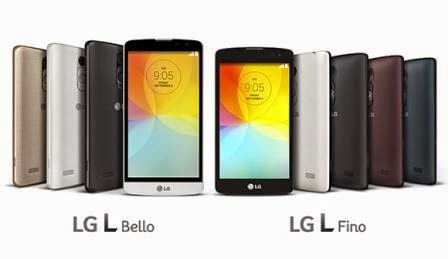 LG perkenalkan dua ponsel murah L-series, LG L Fino dan L Bello