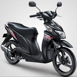 Suzuki Nex 110 black color