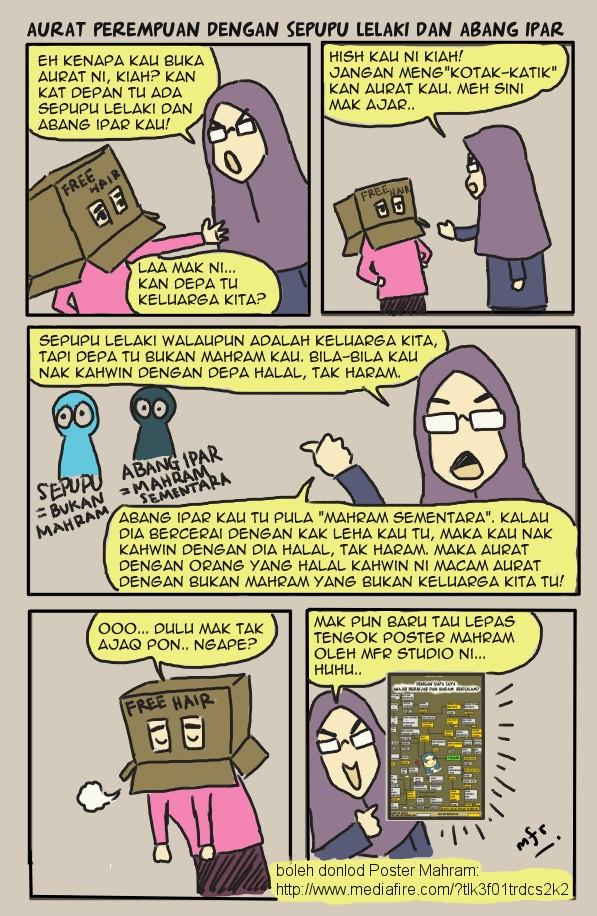 Aurat Perempuan Dengan Sepupu Lelaki Dan Abang Ipar