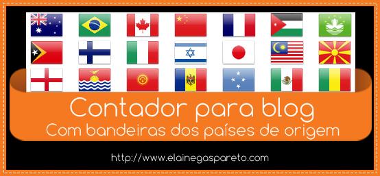 contador para blog com bandeiras dos países de origem