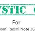 Custom ROM MysticOS 6 Xiaomi Redmi Note 3G