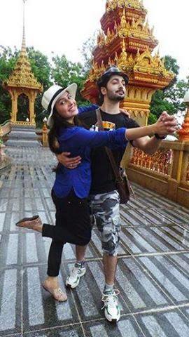 Pakistani Celebrities Ayeza Khan & Danish Taimoor Honeymoon Pictures