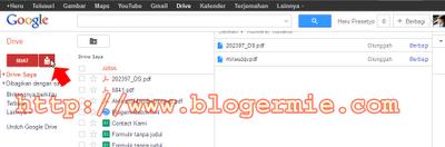 Google Drive untuk hosting file dan document