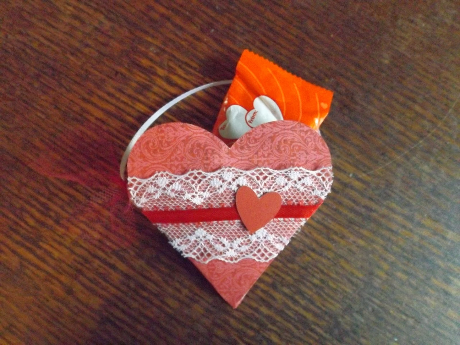 Heart Candy Holder