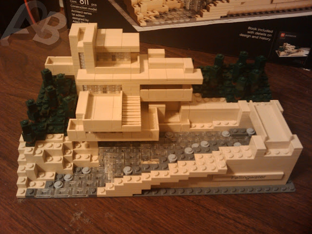 Lego Architecture Fallingwater 210053