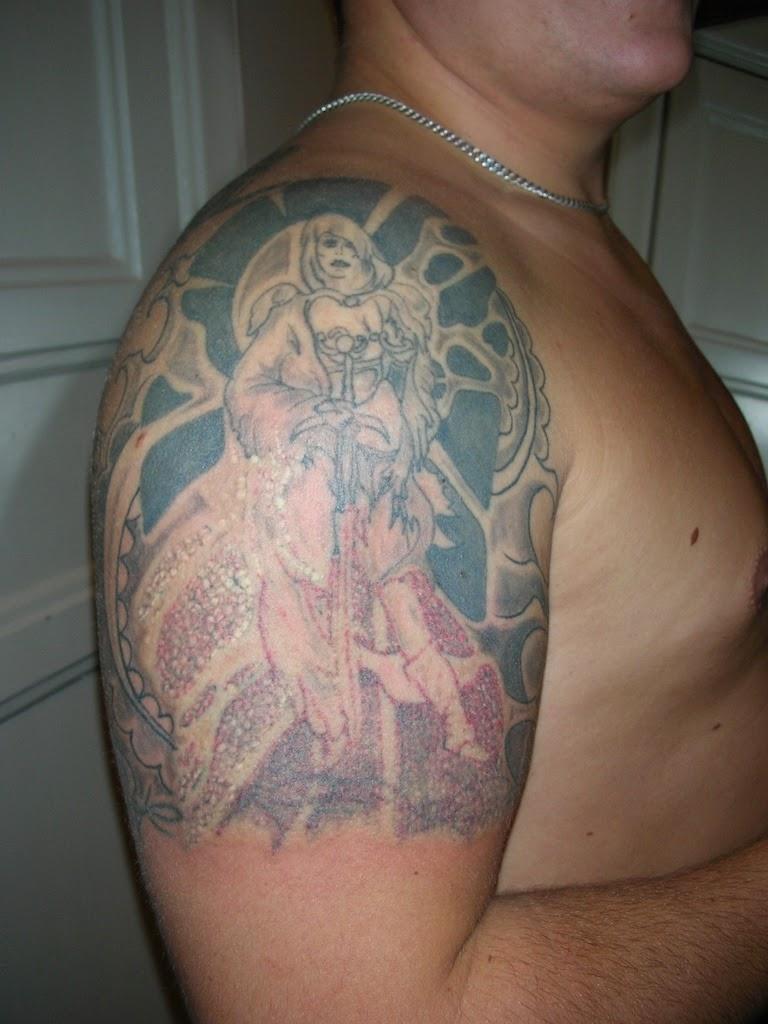 tatuera över tatuering