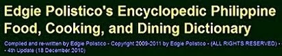 SEE THIS OPEN & FREE food dictionary now: