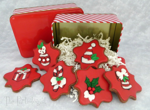 these are more stamped cookies with added icing and fondant