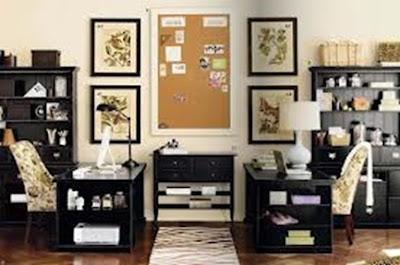 pequeña oficina para dos