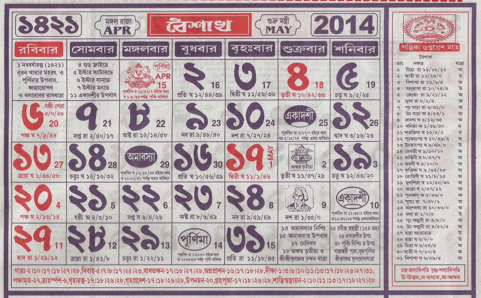Bengali New Year Calendar : Years bengali calendar new template site
