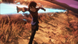 Kirito's first monster killed in SAO