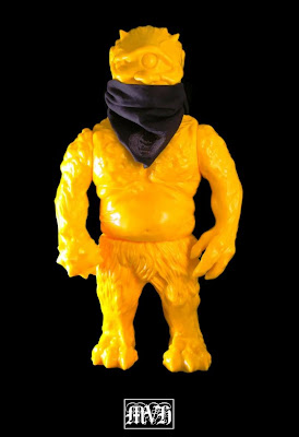 Unpainted Yellow Ollie Vinyl Figure by LASH