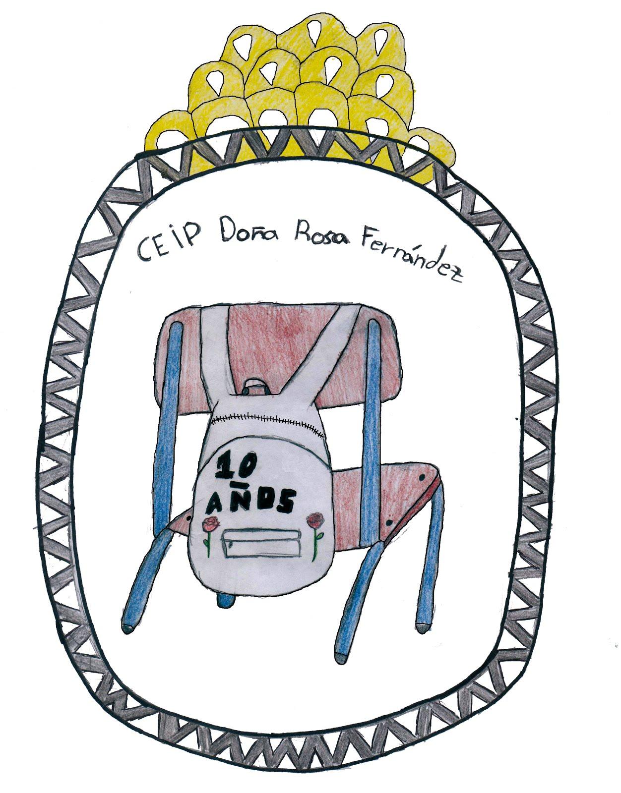 Escudo del CEIP Doña Rosa Fernández