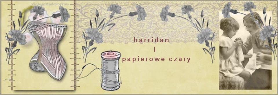 harridan i papierowe czary