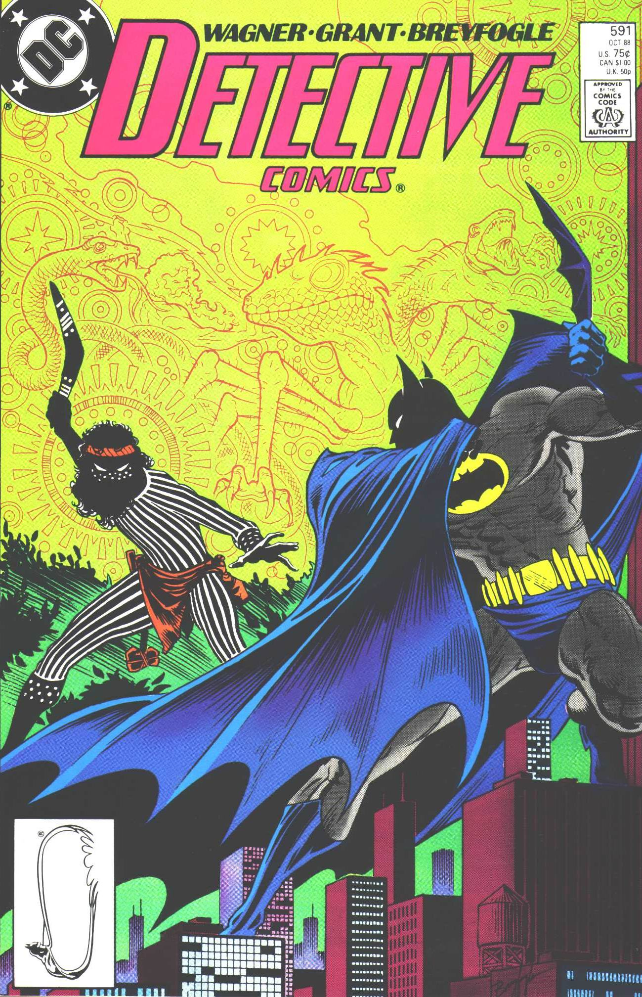Detective Comics (1937) 591 Page 1
