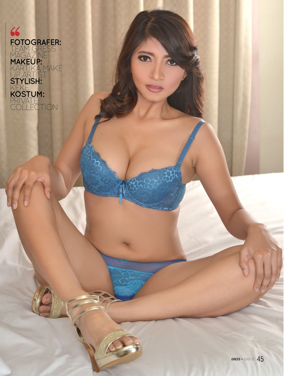 full koleksi foto hot aya beby model seksi cantik gress