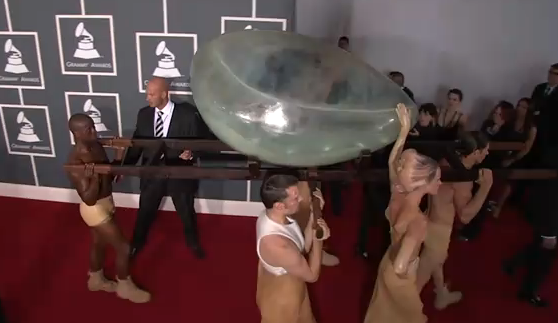 Lady Gaga Grammy Awards 2011
