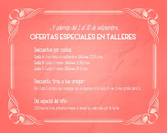 Ofertas en talleres de manualidades en Alicante