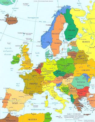 EUROPA, ¿DE DÓNDE VIENE EL NOMBRE DE EUROPA ?