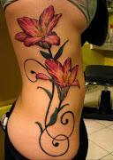 Tattoos For Girls On Back Side flowers womens girls tattoos