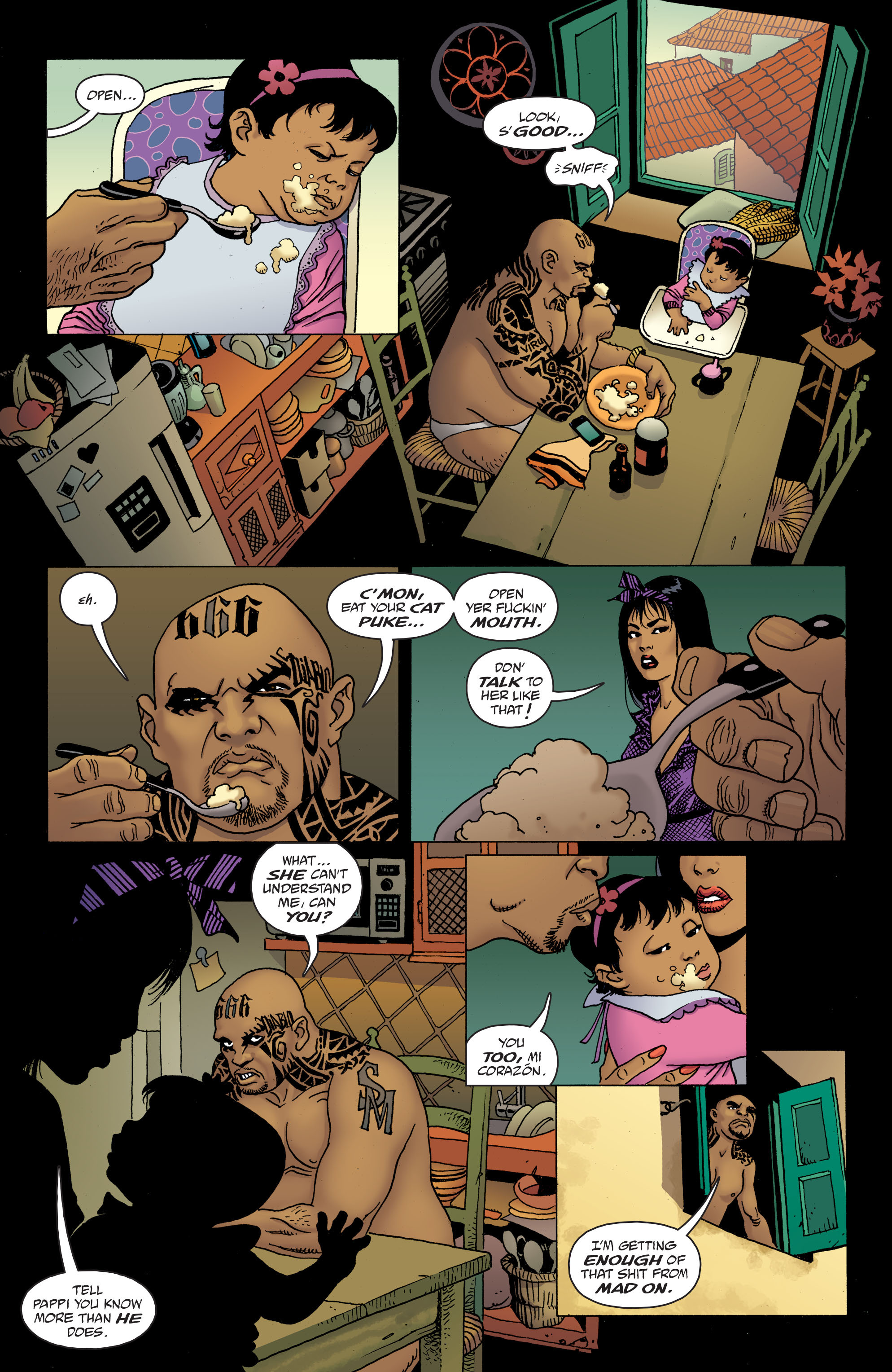 100 Bullets: Brother Lono Full Page 107