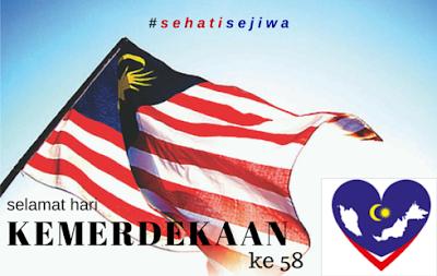 Selamat menyambut hari merdeka ke 58 2015