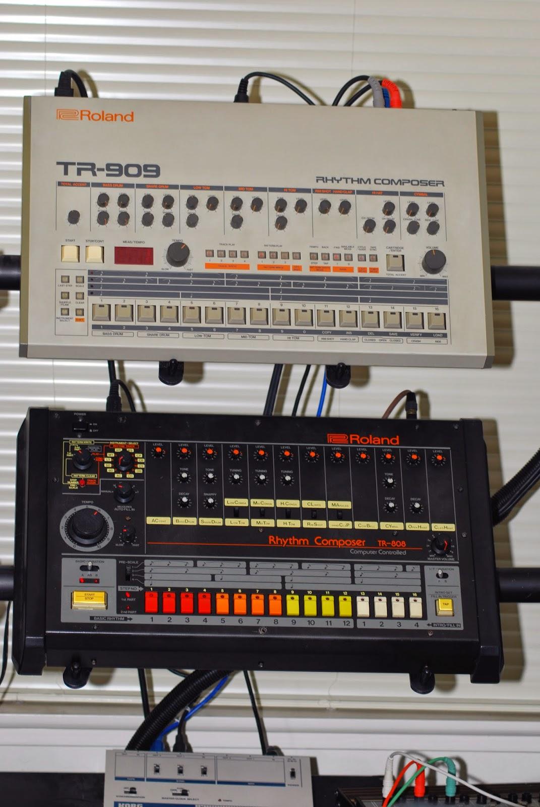 Roland TR8 y 909