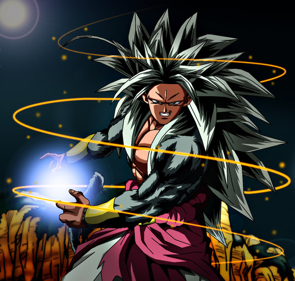 Dragon ball z wallpapers broly super saiyan 5 - Super sayen 10 ...