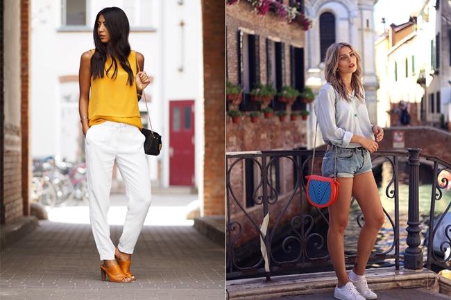 Not Your Standard, Mustard Yellow, Gelb im Sommer, Sommertrend Gelb, Masha Sedgwick, Shorts im Sommer, Shorts Look