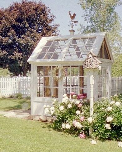 Betty mountain girl tiny greenhouses for Tiny house with greenhouse